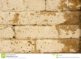 Beige Paint Distressed Beige Paint On Tan Brick Wall Stock Photo Image 47588060