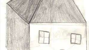 how to draw a 3d house our pastimes