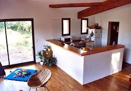 deco cuisine ouverte sur salon cuisine ouverte sur salon avec bar 3 davaus decoration cuisine