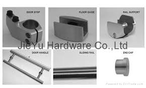 free shipping morden sliding glass door hardware for shower door