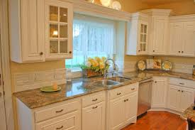French Country Kitchen Backsplash - white kitchen backsplash ideas home design ideas