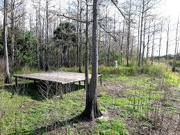 tent platform panoramio photo of sjrwmd bulldozer campsite tent platform