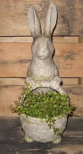 Easter Decorations Rabbits by Best 25 Easter Garden Ideas On Pinterest Easter Stuff Easter