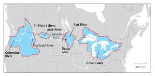 Map Of Canada And Usa by About The Book U2013 Program On Water Governance