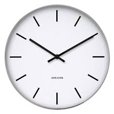 Karlsson Orologio by Plain Wall Clock Gallery Home Wall Decoration Ideas