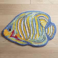 Fish Bath Rug Colorful Fish Bath Rug Pier 1 Imports