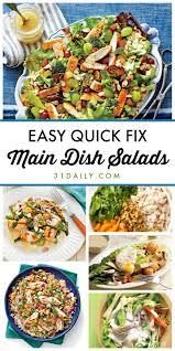 Salad Main Dish - 12 quick fix and easy main dish salads 31 daily