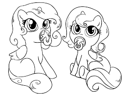 baby little pony coloring pages my little pony car coloring