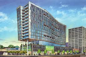 updated design for evanston apartment high rise revealed in latest