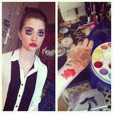 toxicfluff u2013 ventriloquist dummy makeup look