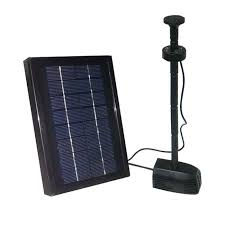 amazon com 2 5 watt solar water pump kit with battery pond