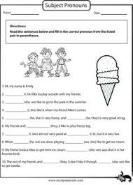 pronoun worksheets for preschoolers yes no questions 4 pages