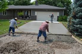 spreading and finishing concrete opp concrete wichita