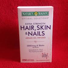 250 nature u0027s bounty hair skin and nails 250 softgel multivitamin