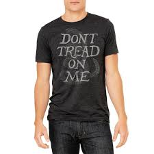 Dont Tread On Me Confederate Flag Don U0027t Tread On Me Gadsden Vintage Triblend Graphic T Shirt