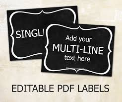 editable printable jar labels editable labels chalkboard labels for mason jars editable