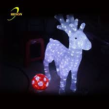 Outdoor Christmas Decorations Swans by Outdoor Led 3d Swan Zoo Park Decoration Sculpture Lighting Buy
