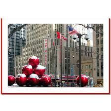 christmas ornaments in new york city u2013 ny christmas photo card