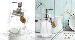 unique soap dispenser smith u0027s mason jars