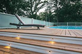 midcentury pool remodel more space more privacy