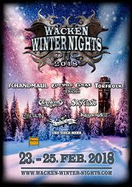 wacken winter nights wacken winter nights 2018 early winter