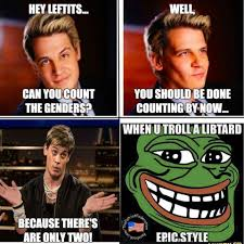 T Meme - when someone says the left can t meme milo yiannopoulos know