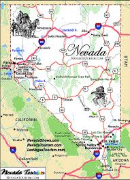 map of nevada state of nevada map