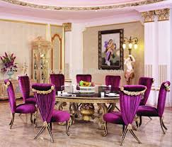Dining Room Set For 10 by Purple Dining Room Table Home Design Ideas
