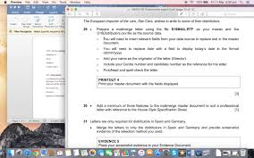 cambridge igcse 2016 mail merge youtube