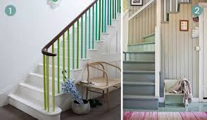 Painted Banister Ideas Eye Candy 10 Diy Staircase Makeover Ideas Curbly