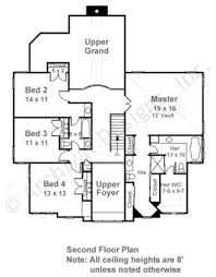 upper floor plan caracalla neoclassic house plan traditional house plan