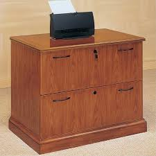 Wooden Lateral File Cabinets Wood Lateral File Cabinet With Hutch U2014 Bitdigest Design