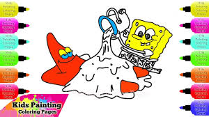 how to draw spongebob squarepants play with patrick star