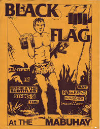 Mi Flag Raymond Pettibon The Art Of Black Flag 1980s Asx