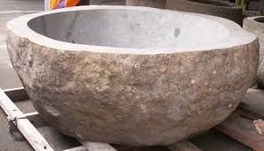bathtubs gorgeous natural stone bathroom sinks 71 half wall in