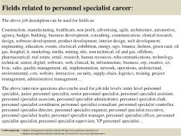 personnel specialist sample resume top 10 personnel specialist interview questions and answers
