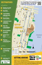Walking Map Of New York City by Hoboken Green Building Walking Tour Incl 1 Passive House Ny