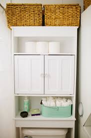 Storage For Towels In Small Bathroom by 17 Brilliant Over The Toilet Storage Ideas