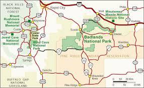 badlands national park map l bryant beyond boundaries exhibit