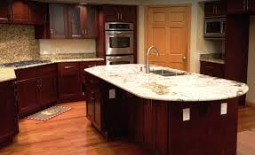 Natural Cherry Shaker Kitchen Cabinets Home Custom Cabinets Semi Custom Cabinets Stone