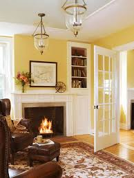 yellow livingroom decorating with yellow walls accessories and accents