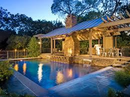 Backyards With Pools by Backyard Designs With Pool And Outdoor Kitchen Home Decor Gallery