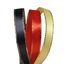 gold satin ribbon faced gold edge satin ribbon ribbons