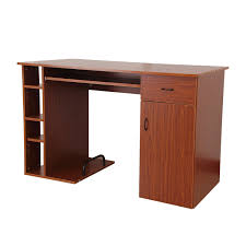 Small Walnut Desk Small Home Office Computer Desk Walnut Golden Oak