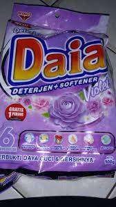 Sabun Daia jual sabun detergent daia 900 gram 1 pcs violet imyonline