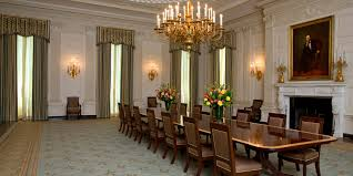 dining room makeovers michelle obama revamps the white house state dining room