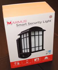 security light with camera built in maximus smart security light review the gadgeteer