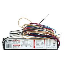 light fixture ballast ge 120 to 277 volt electronic program start ballast for 2 or 1