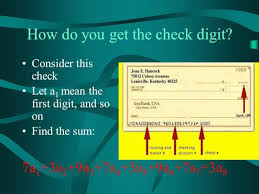 Kentucky traveler checks images 3 ways to calculate the check digit of a routing number from an jpg#4