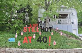 28 yard decorations for birthdays birthday signs for the